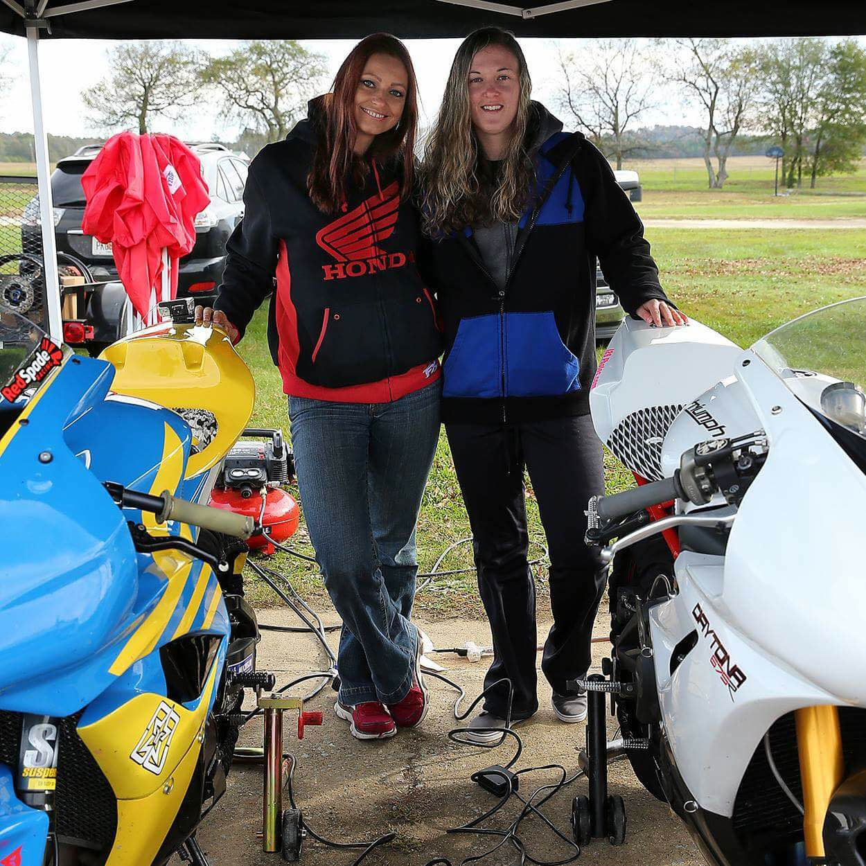 I never really considered doing an all ladies trackday event, but after attending the Ladies First day with STGirl I absolutely fell in love! I really got to hone my skills in a welcoming and fun environment with my fellow females. Getting to meet so many awesome women that share the same passion was incredible and now I'm hooked!